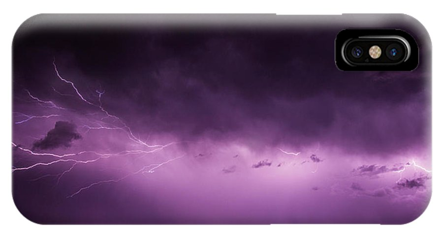 Nebraskasc IPhone X Case featuring the photograph A Great Way To End This Chase Day 013 by NebraskaSC