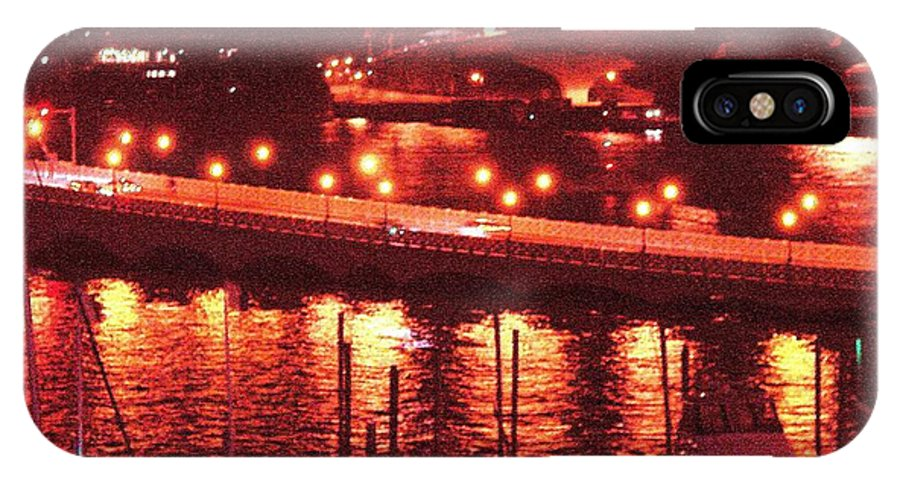 Biscayne Bay IPhone X Case featuring the photograph A Hot Night On Biscayne Bay by Margaret Bobb