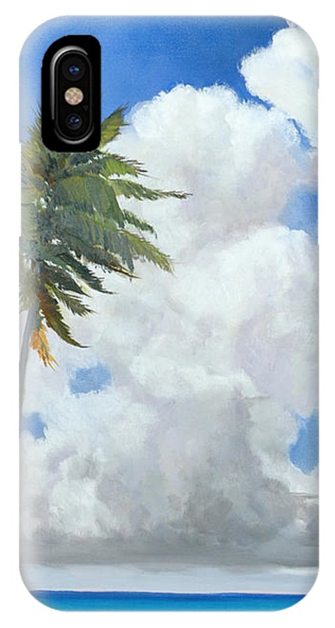 Landscape IPhone Case featuring the painting A Perfect Day by Glenn Secrest