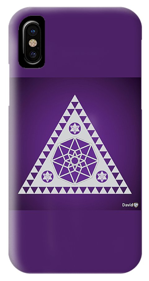 A Pleiadian Symbol IPhone X Case