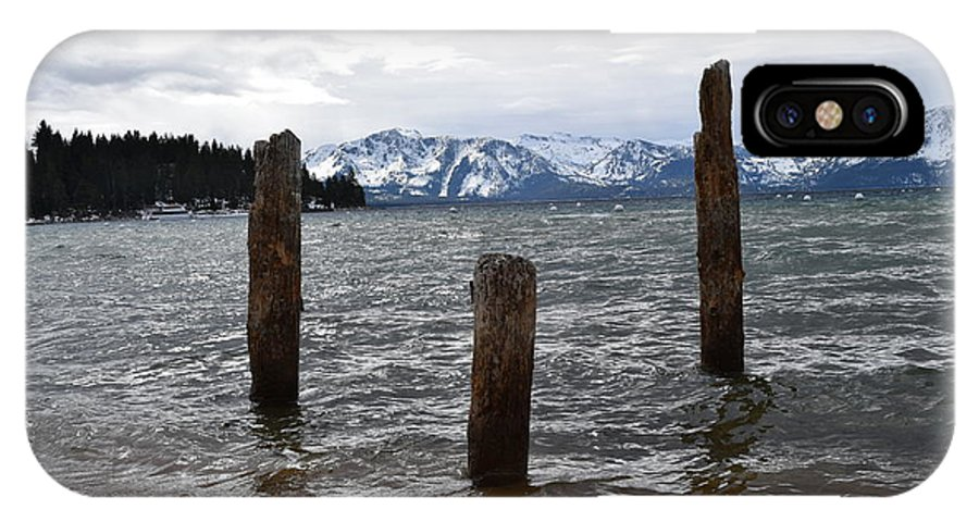 Lake Tahoe IPhone X Case featuring the photograph A Set Of 3 by Christina McNee-Geiger