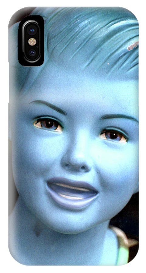 IPhone X Case featuring the photograph A Tad Chilly by Jez C Self