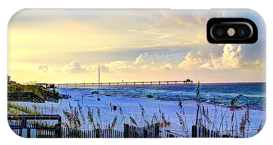 Destin IPhone X Case featuring the photograph A Taste Of Heaven by David Morefield
