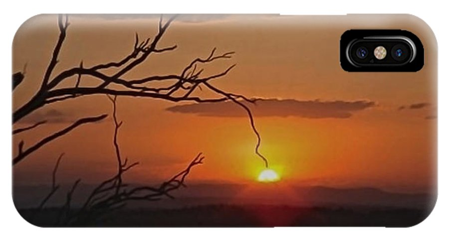Quirindi IPhone X / XS Case featuring the photograph A Touch Of Paradise by Michelle Ngaire