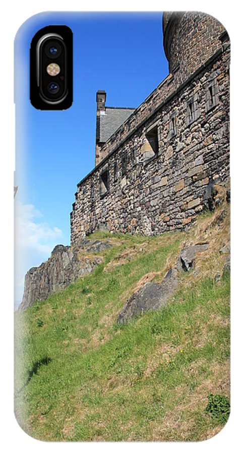 Landscapes IPhone X Case featuring the photograph A View From The Castle by Martina Fagan