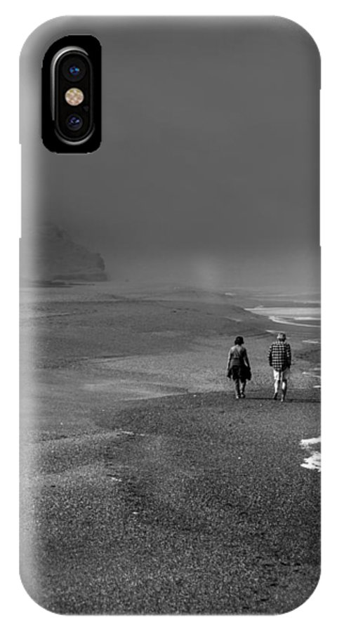 Walking IPhone X Case featuring the photograph A Walk by Mark Alder