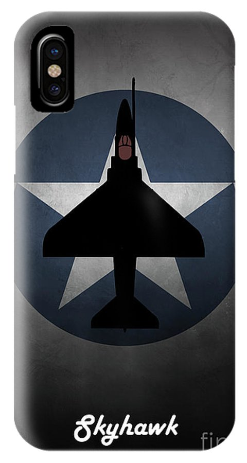 A4 Skyhawk Us Navy IPhone X Case