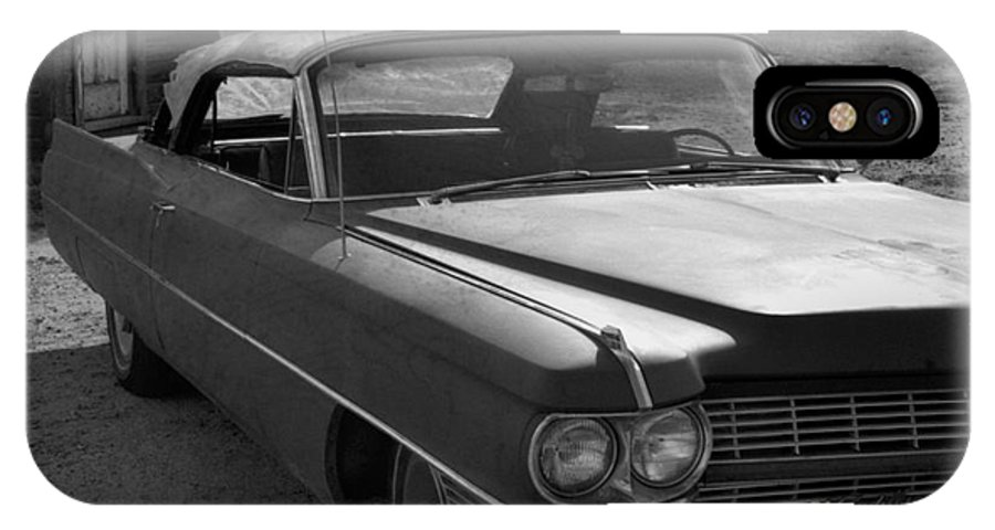 Cadillac IPhone X Case featuring the photograph Abandoned Classic by Richard Rizzo