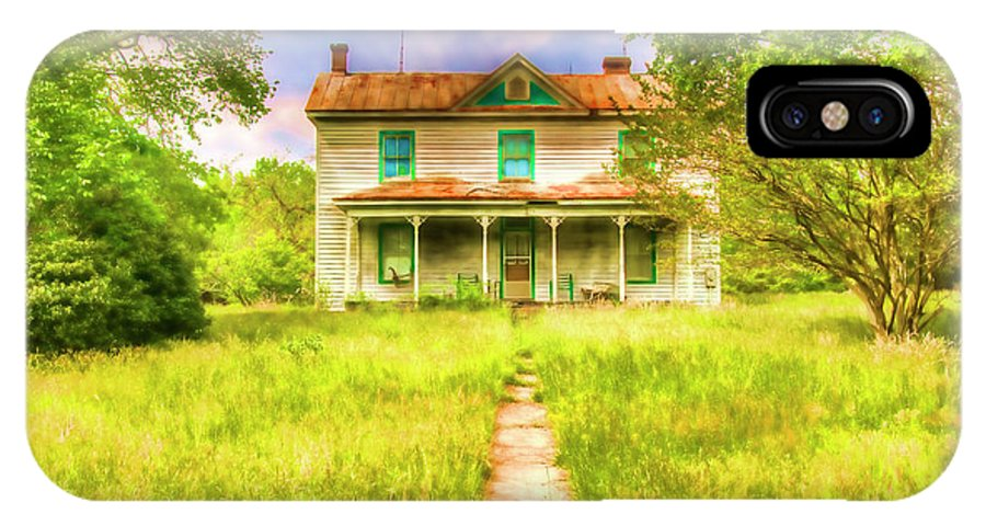Landscape IPhone X / XS Case featuring the photograph Abandoned Farm House by Doug Berry