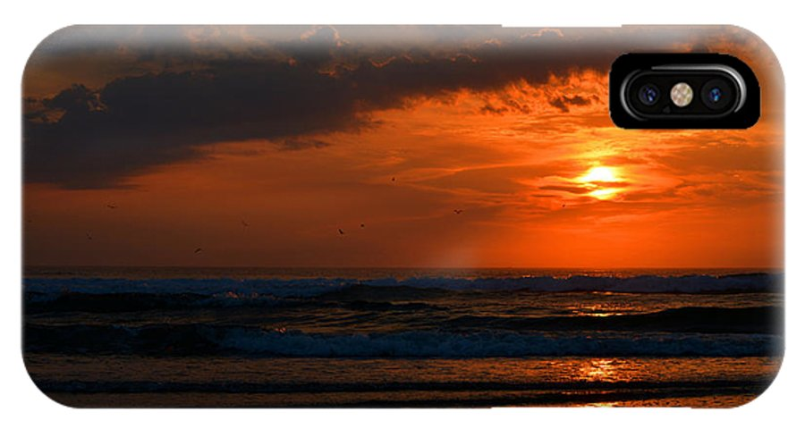 Ocean IPhone X Case featuring the photograph Above And Below by Dianne Cowen