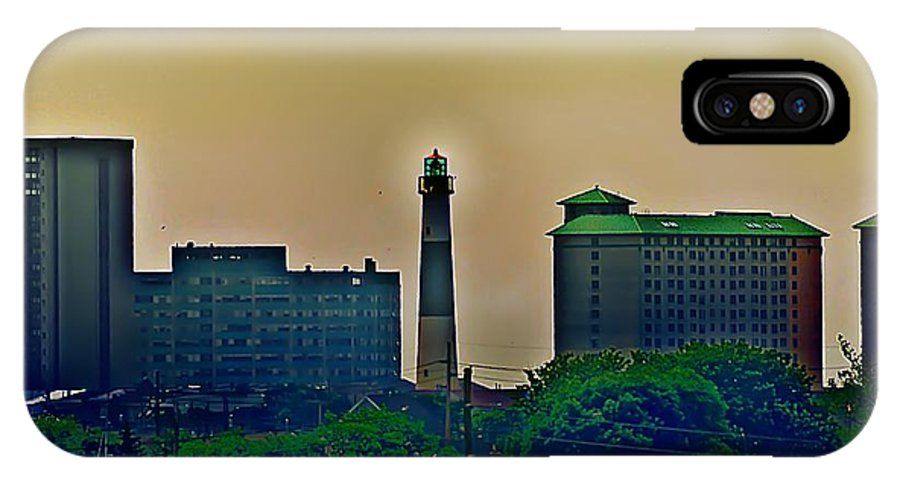 Atlantic City IPhone X Case featuring the photograph Absecon Lighthouse by Bill Cannon