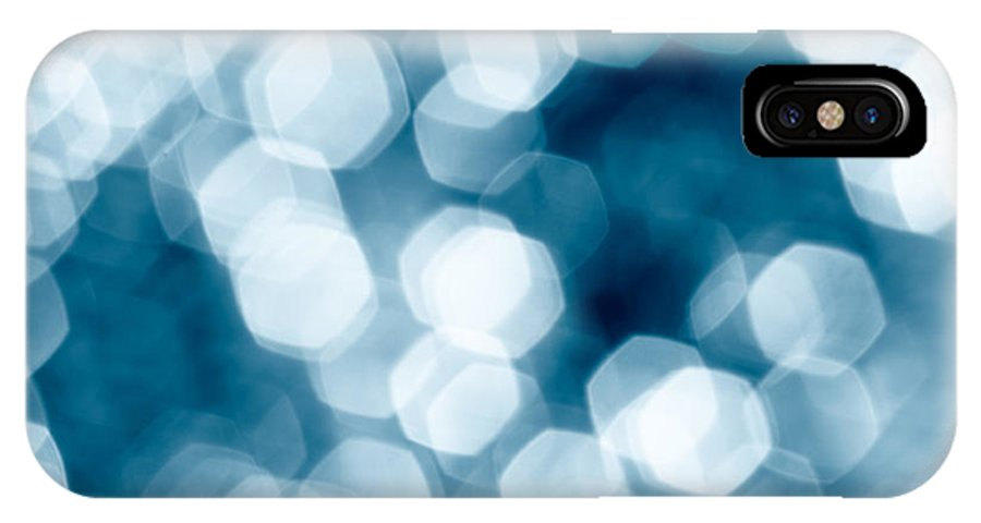 Abstract IPhone X Case featuring the photograph Abstract Background by Gaspar Avila