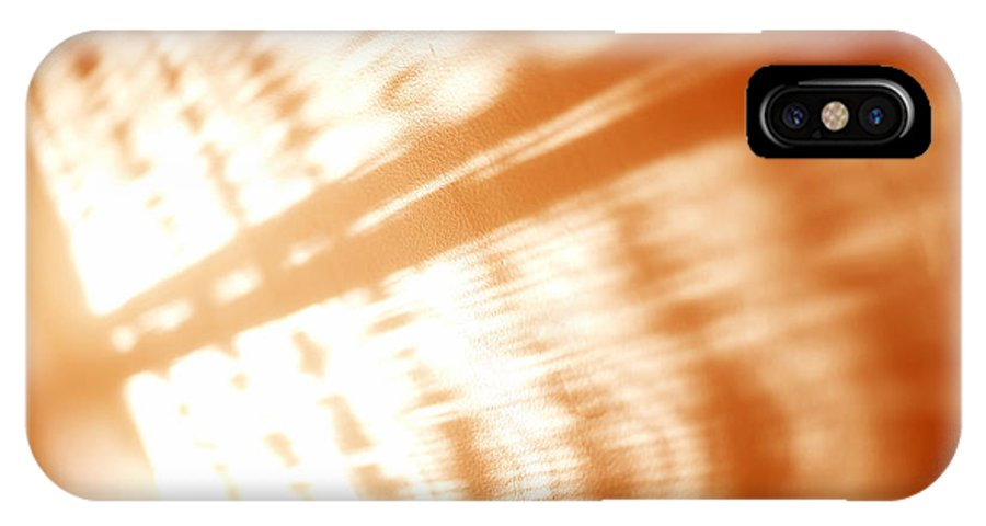 Abstract IPhone Case featuring the photograph Abstract Light Rays by Tony Cordoza