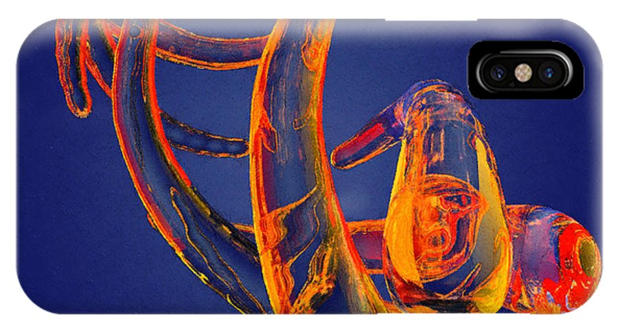 Abstract IPhone X Case featuring the photograph Abstract Number 13 by Peter J Sucy