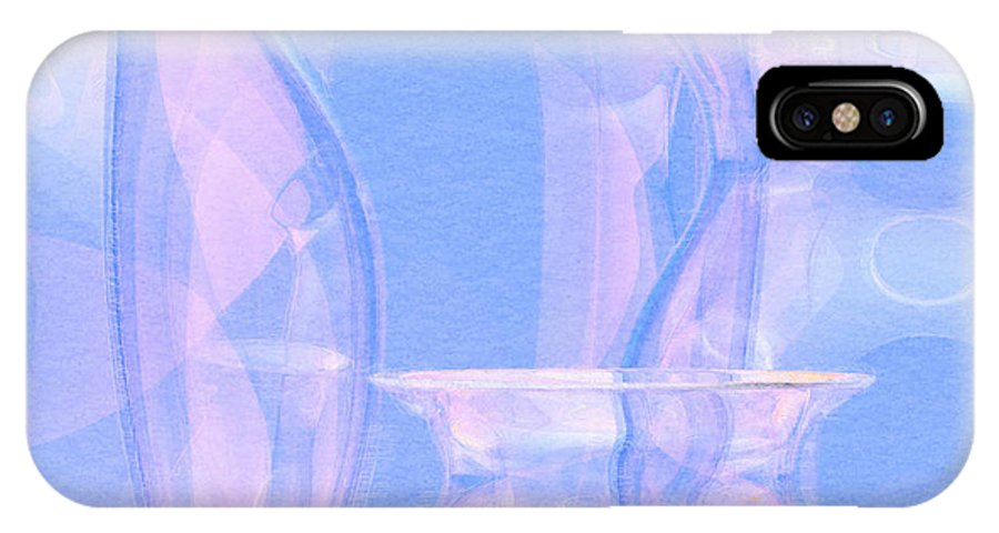 Glass IPhone Case featuring the photograph Abstract Number 21 by Peter J Sucy