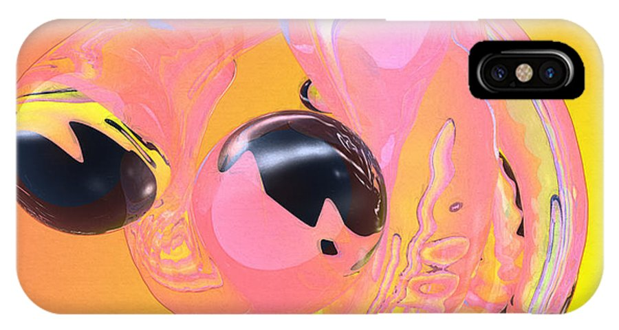Abstract IPhone Case featuring the photograph Abstract Number 5 by Peter J Sucy