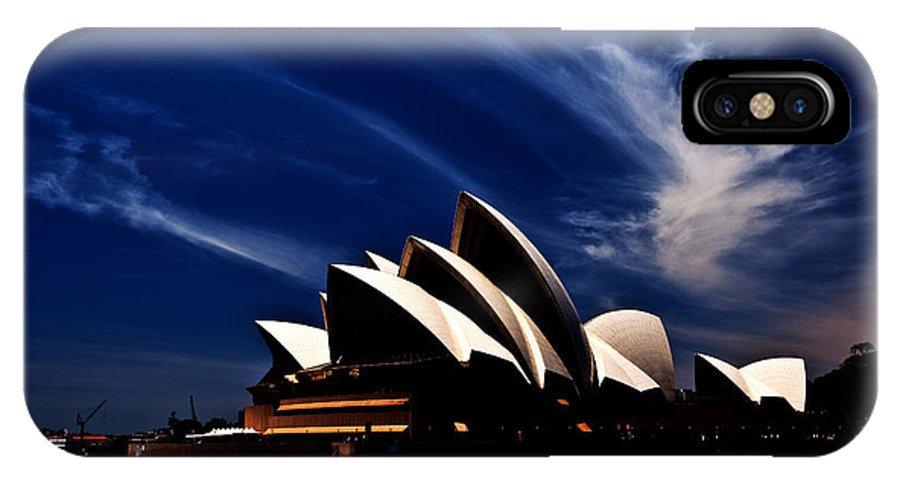 Sydney Opera House IPhone X Case featuring the photograph Abstract Of Sydney Opera House by Sheila Smart Fine Art Photography