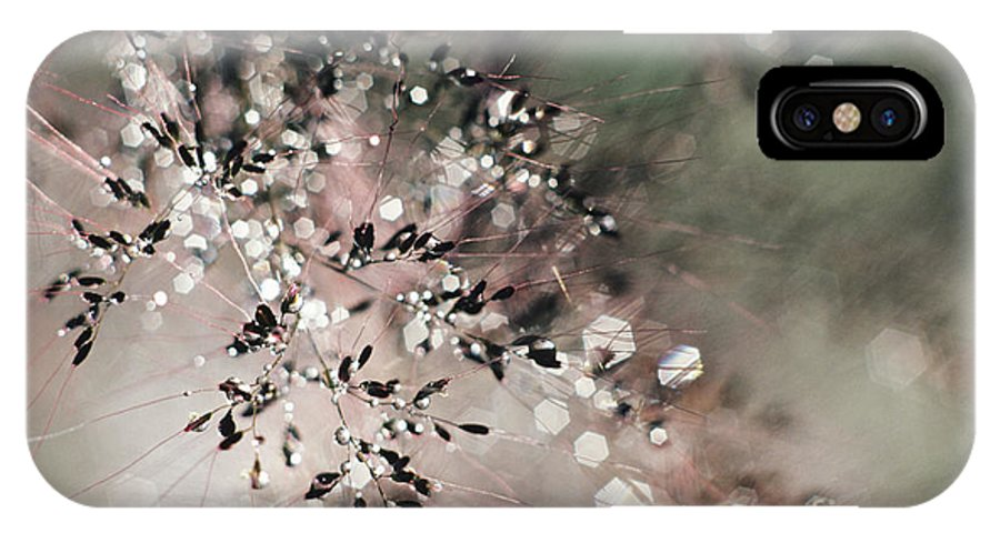 Blur IPhone X Case featuring the photograph Abstract Plant by Larry Dale Gordon - Printscapes