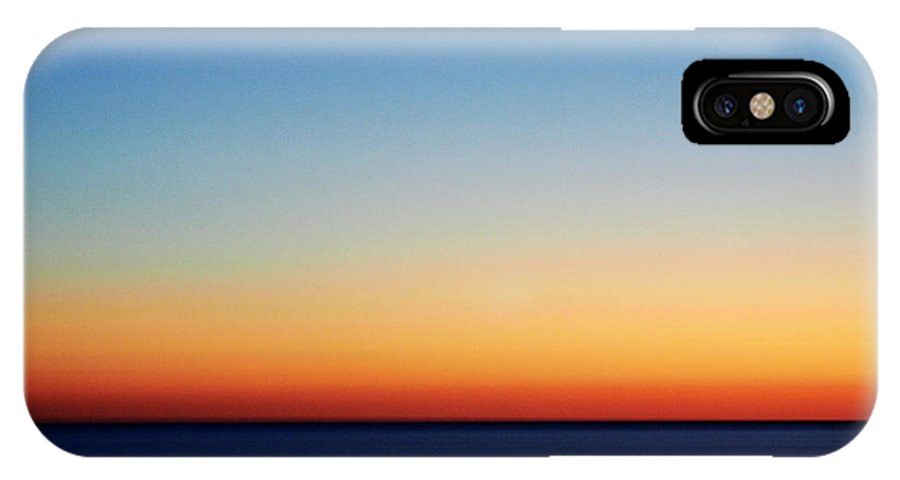 Sky IPhone X Case featuring the photograph Abstract Sky by Tony Cordoza