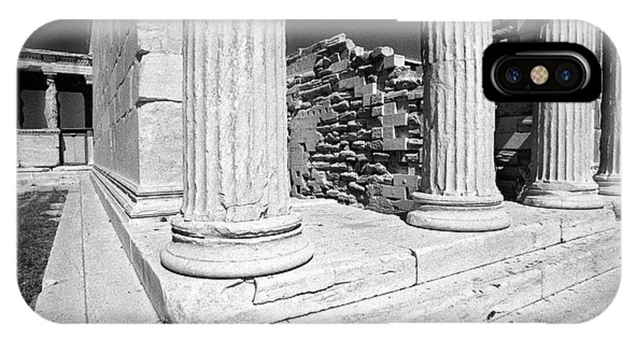 Acropolis IPhone X Case featuring the photograph Acropolis 3 by Keith Conrey