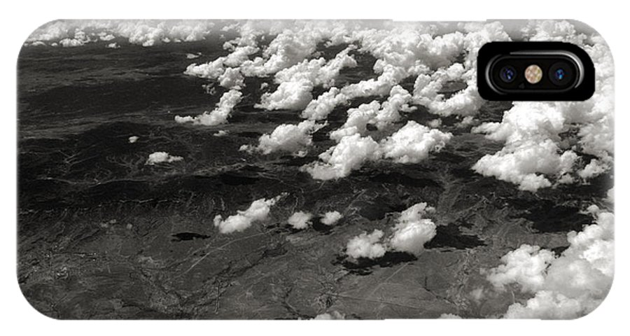 Clouds IPhone X Case featuring the photograph Across The Miles II by Joanne Coyle