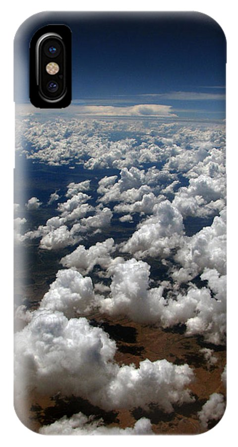 Greeting Card IPhone X Case featuring the photograph Across The Miles by Joanne Coyle