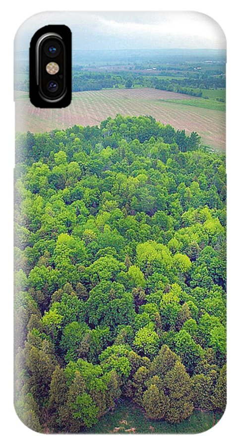 Aerial IPhone Case featuring the photograph Aerial Forest by Steve Somerville
