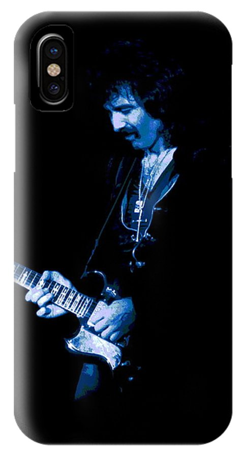 Black Sabbath IPhone X Case featuring the photograph After Forever Blues by Ben Upham