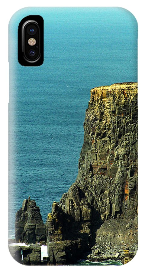 Irish IPhone X / XS Case featuring the photograph Aill Na Searrach Cliffs Of Moher Ireland by Teresa Mucha