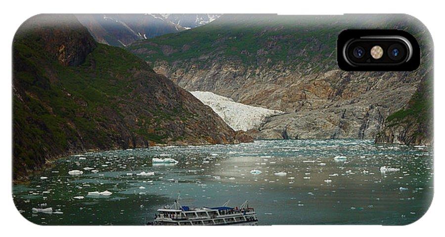 Alaska IPhone Case featuring the photograph Alaska Endicott Glacier by Heather Coen