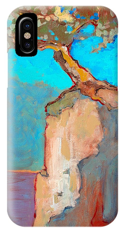 Tree IPhone Case featuring the painting Albero by Kurt Hausmann