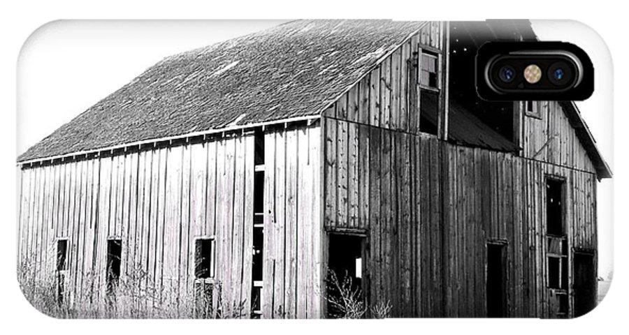 Barn IPhone X Case featuring the photograph Albert City Barn 3 by Julie Hamilton