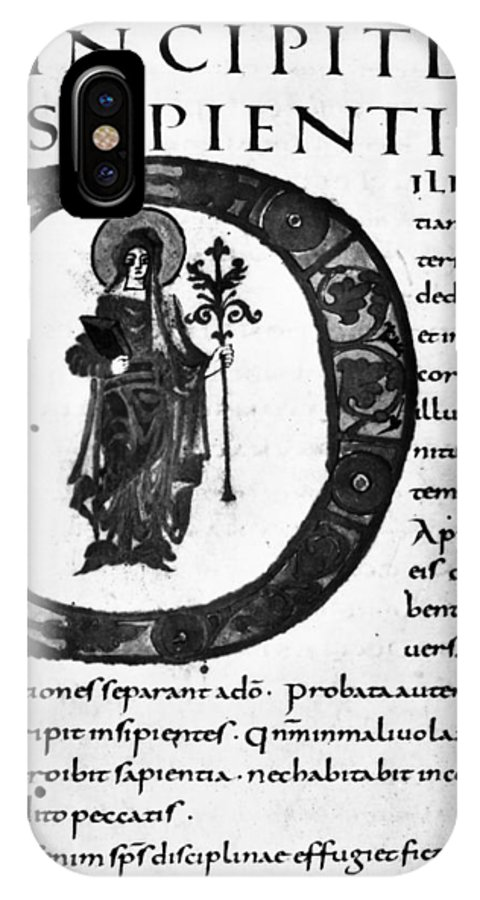 9th Century IPhone X Case featuring the photograph Alcuin Revision by Granger