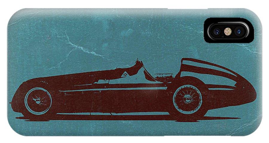 Alfa Romeo Tipo 159 Gp IPhone X Case featuring the photograph Alfa Romeo Tipo 159 Gp by Naxart Studio