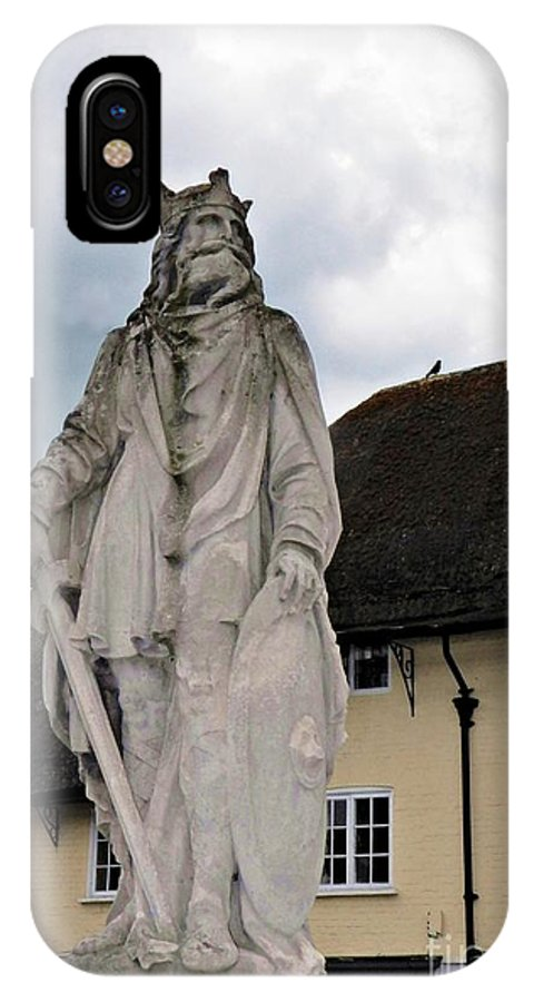 Pewsey Village And Civil Parish IPhone X / XS Case featuring the photograph Alfred by David A James