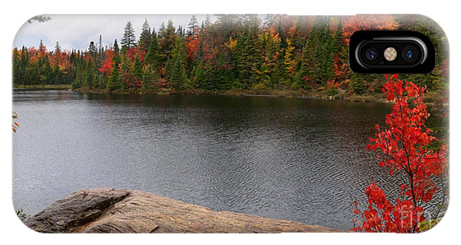 Lake IPhone X Case featuring the photograph Algonquin Provincial Park Ontario by Oleksiy Maksymenko