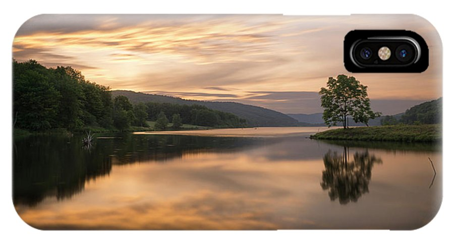 Allegany IPhone X Case featuring the photograph Allegany Sunset by Dustin Schwartzmeyer