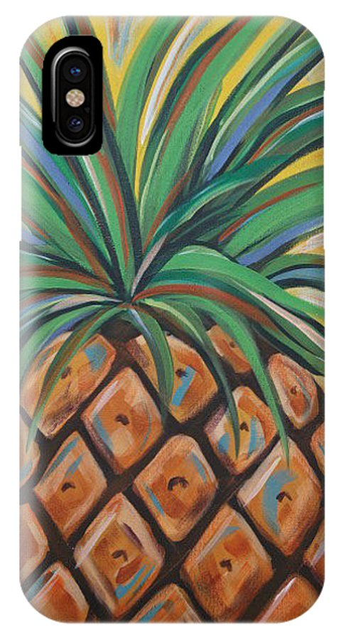 Aloha IPhone Case featuring the painting Aloha by Angela Miles Varnado