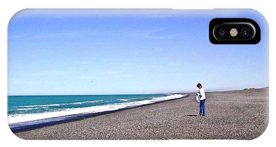 Alone IPhone X Case featuring the photograph Alone And At Peace by Douglas Barnett