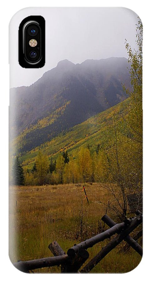 Colorado IPhone X Case featuring the photograph Along The Alpine Loop by Marty Koch
