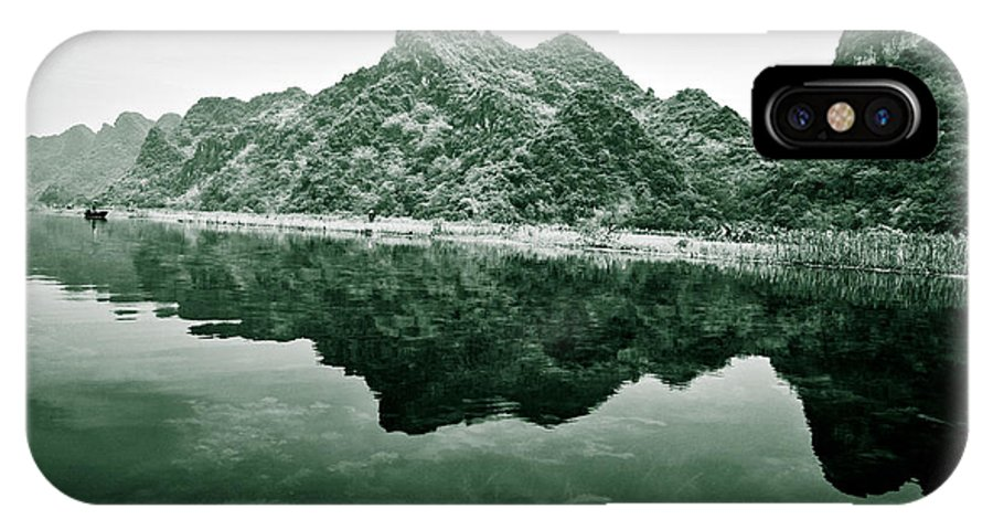 Yen IPhone X Case featuring the photograph Along The Yen River by Dave Bowman
