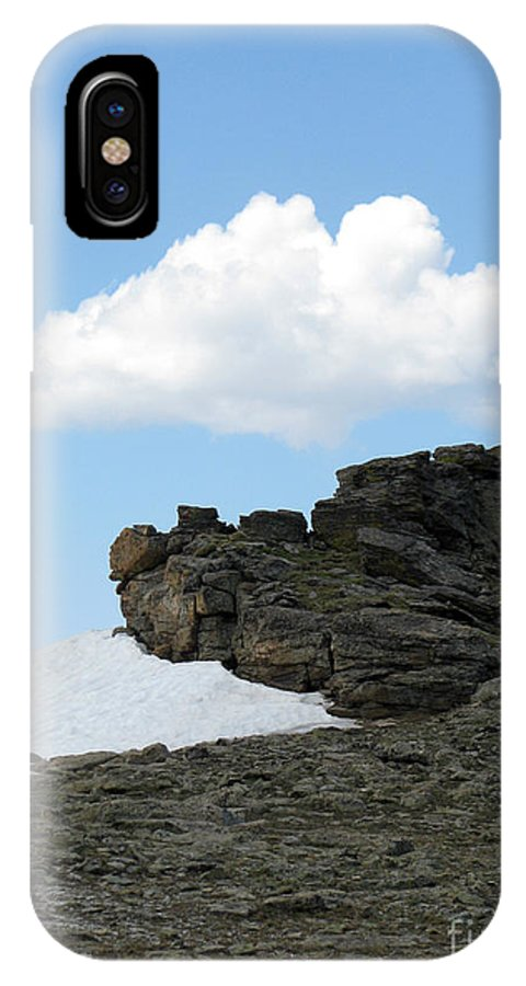 Rocky Mountains IPhone X Case featuring the photograph Alpine Tundra - Up in the clouds by Amanda Barcon