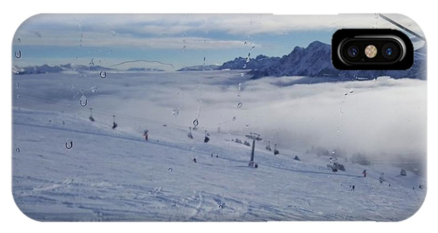 Nature Mountains Ski IPhone X Case featuring the photograph Alto Adige by Alena Zelenkova