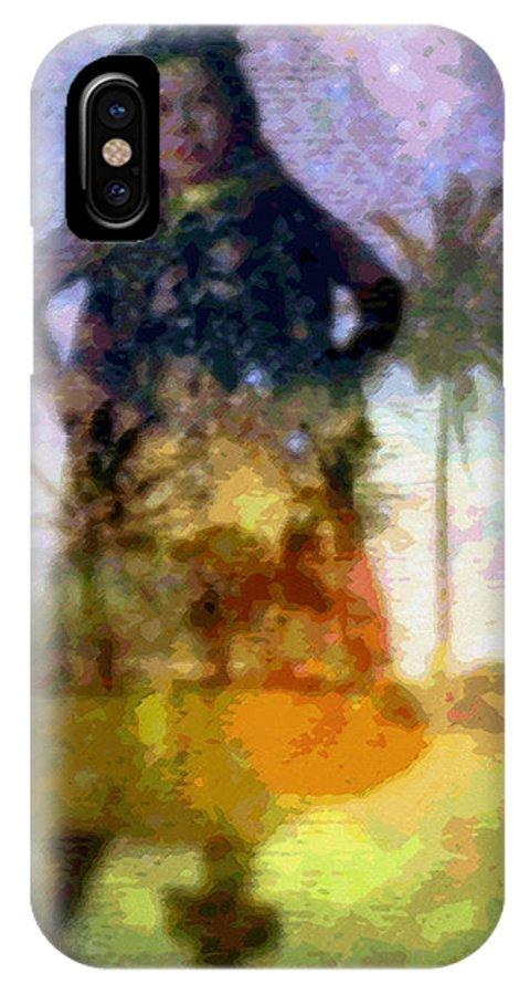 Tropical Interior Design IPhone Case featuring the photograph Aluna Ahiahi Hula by Kenneth Grzesik