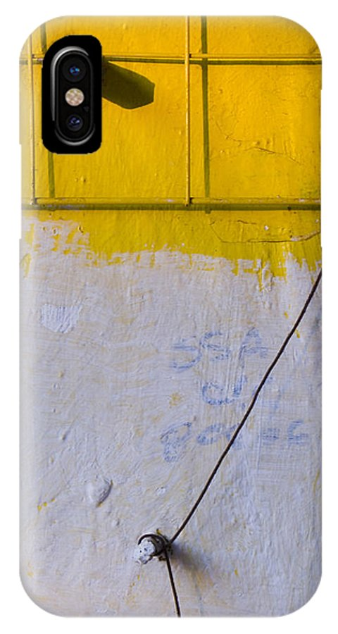 Abstract IPhone Case featuring the photograph Amarillo by Skip Hunt