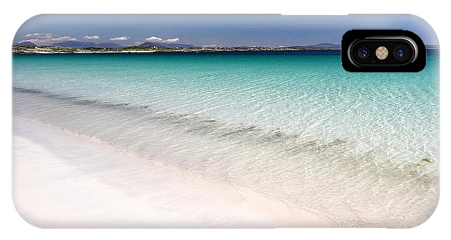 Roundstone IPhone X Case featuring the photograph Amazingly Clear Water Of Dog's Bay Roundstone Ireland by Pierre Leclerc Photography