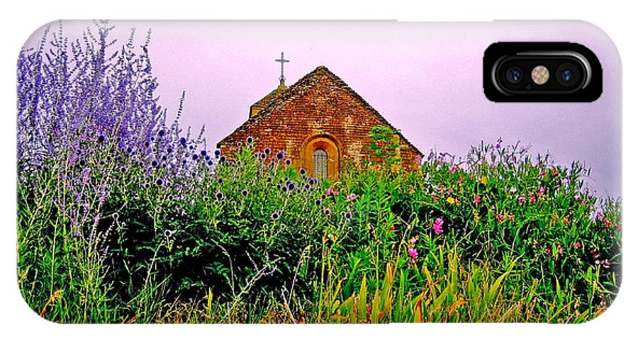 Chapel IPhone X Case featuring the photograph Ameugny 3 by Jeff Barrett