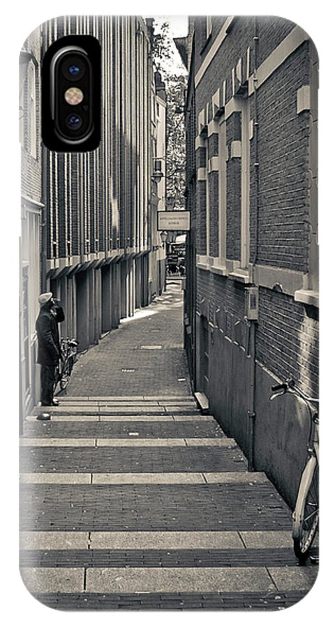 3scape Photos IPhone X Case featuring the photograph Amsterdam by Adam Romanowicz