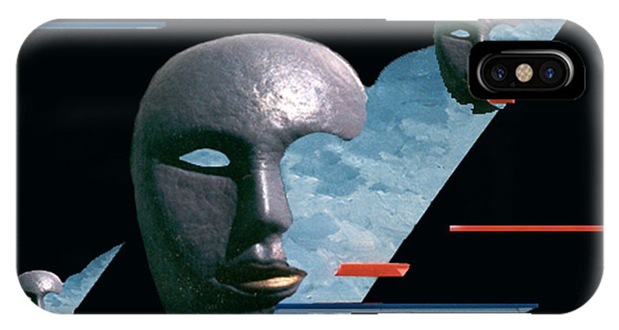 Surreal IPhone Case featuring the digital art An Androids Dream by Steve Karol