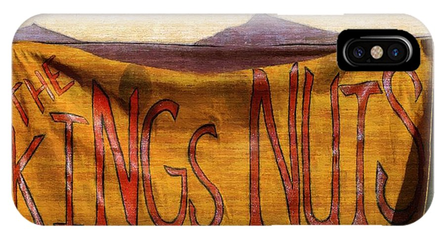 Bar IPhone X / XS Case featuring the painting An Extraordinary Ordinary by RC DeWinter